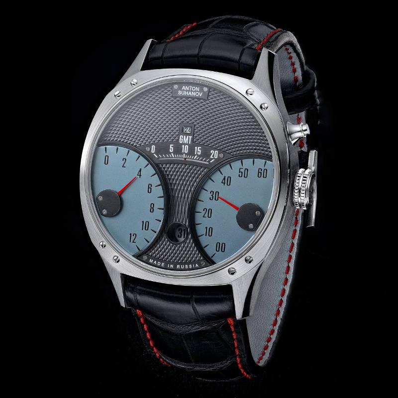 新進気鋭の時計師が初めて手がけた、レース仕様のトリプルレトログラード