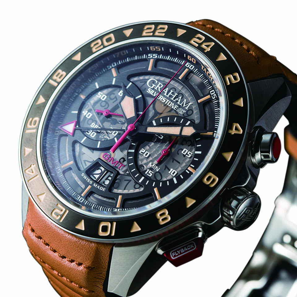 detailed look 47489 9fe2a シルバーストーン RS GMT 【 GRAHAM(グラハム)】   時計を探す ...
