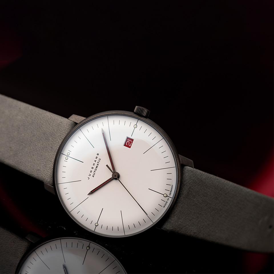 バウハウス100周年記念 マックス・ビル バイ ユンハンス オートマティック Ltd1000 イメージ画像1