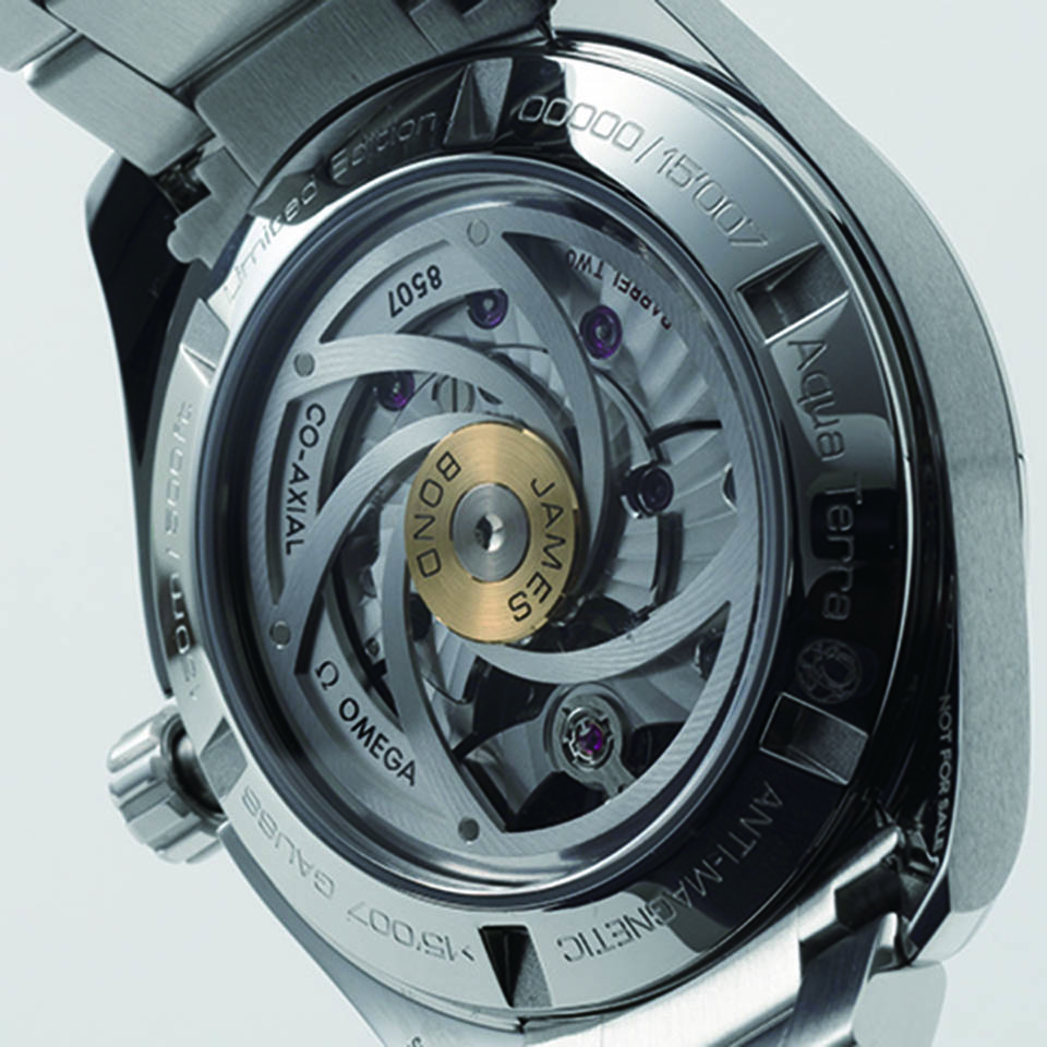 quality design 43d00 a8249 シーマスター アクアテラ ジェームズ・ボンド 007 リミテッド ...