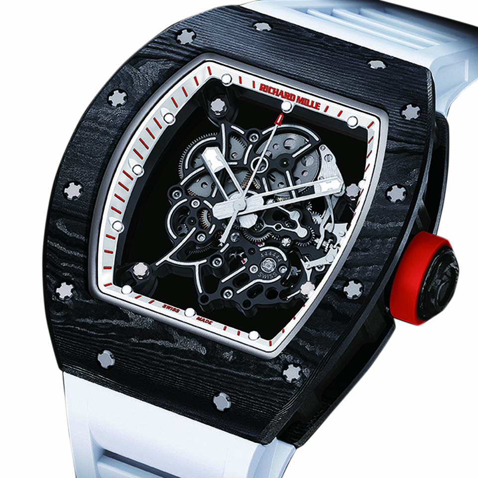 huge selection of 489d1 3290c RM 055 ジャパン・レッド 【 RICHARD MILLE(リシャール・ミル ...