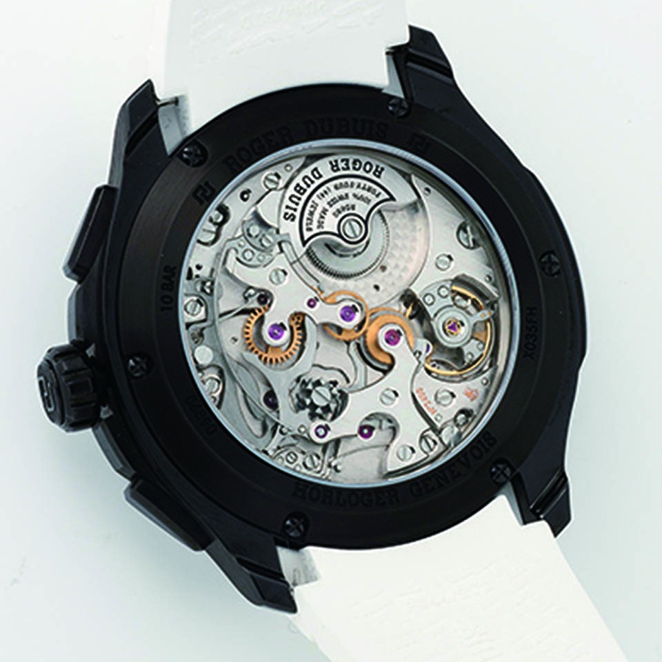low priced 61ea2 d1064 パルジョン クロノグラフ 【 ROGER DUBUIS(ロジェ・デュブイ ...